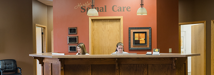 Chiropractic Hartford SD Hartford SPinal Care Front Desk
